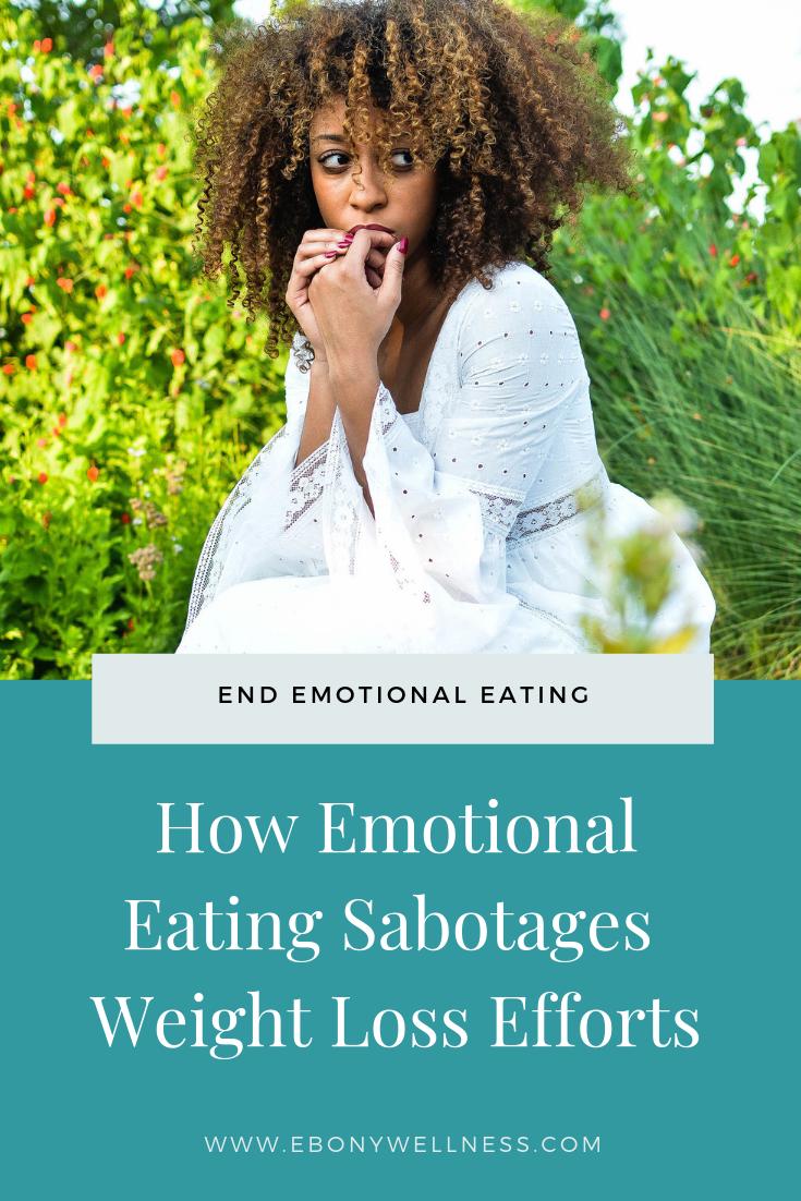 How Emotional Eating Sabotages Weight Loss Efforts - Ebony Wellness