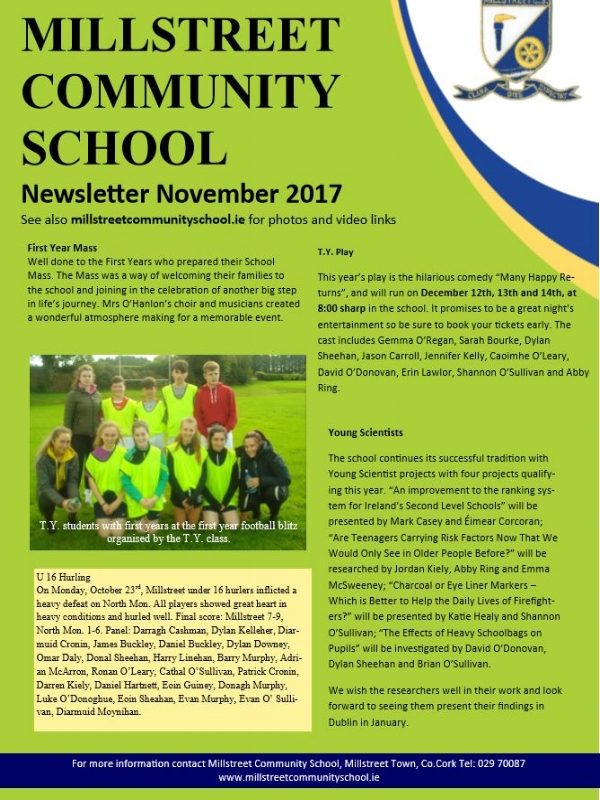 Nov 2017 Edition - MCS Newsletter November 2017