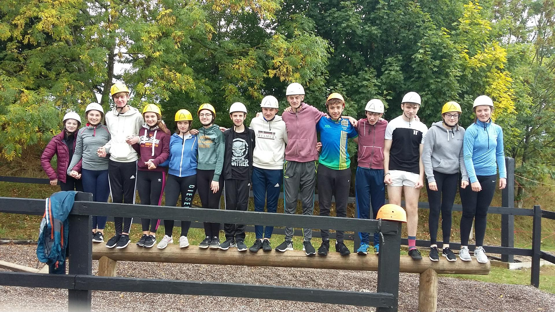 TY Students at Ballyhass Outdoor Pursuits centre 2.jpg