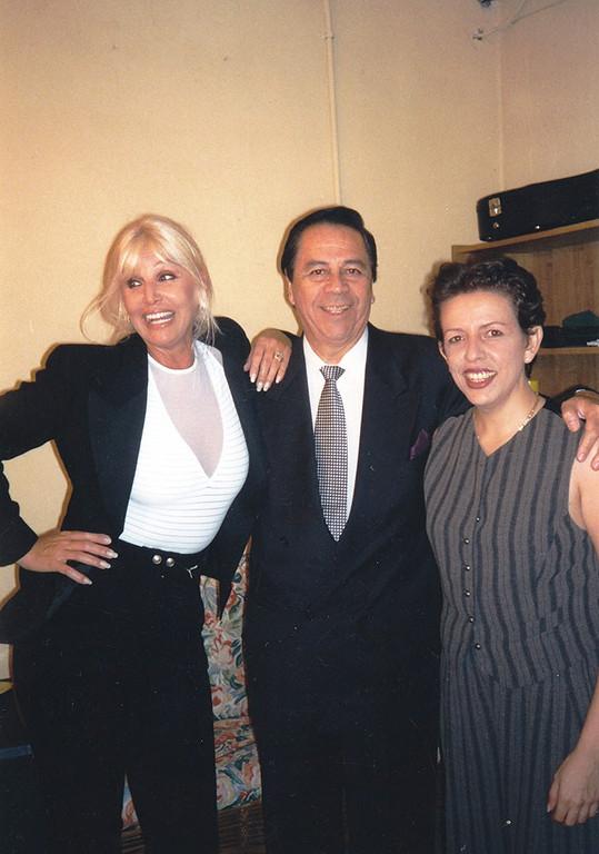 Susana Gimenez, Luco Gatica and Albita