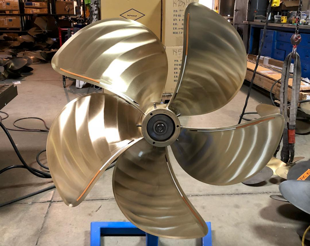 propeller repair - Increase the performance, speed, and efficiency of your propeller.