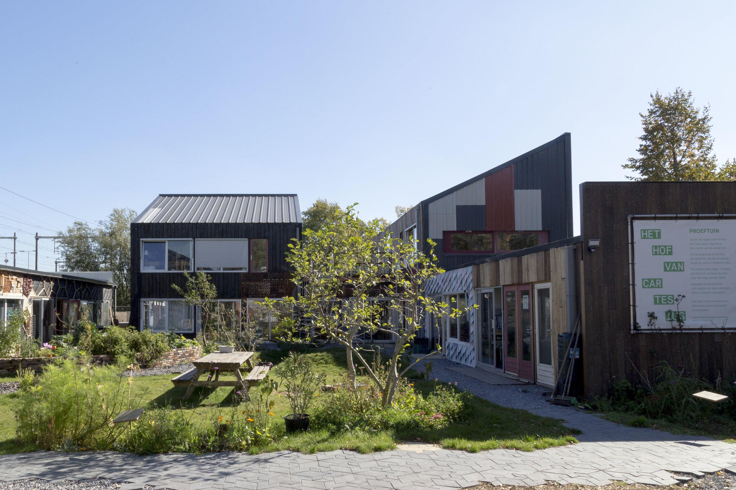 Het Hof van Cartesius - Circulaire Proeftuin en Broedplaats van creatieve makers www.hofvancartesius.nl