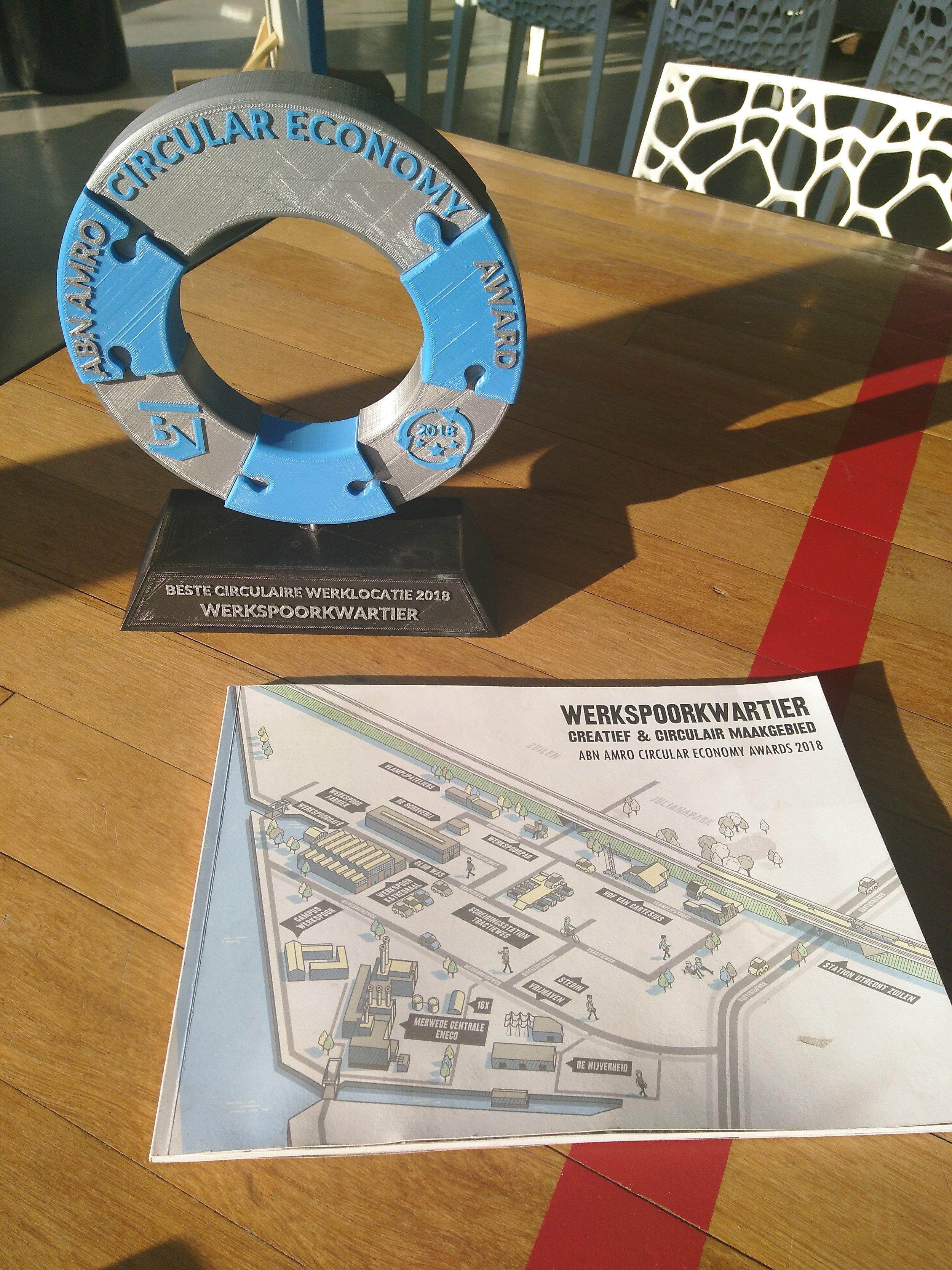 Winnaar Beste Circulaire Werklocatie - ABN AMRO Circular Economy Awards