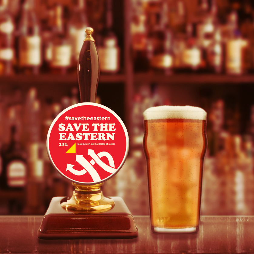 SAVE THE EASTERN ALE - SIGN THE PETITIONThanks to a local brewery, we now serve a lovely 3.8% Golden Ale at all our Brighton pubs. A donation will go to Fareshare for every pint sold. Fareshare help redistribute food, destined to be wasted, to vulnerable people such as homeless hostels, childrens breakfast clubs, lunch clubs for older people, domestic violence refuges and community cafés. So you can safely say that every pint you drink will help the community!