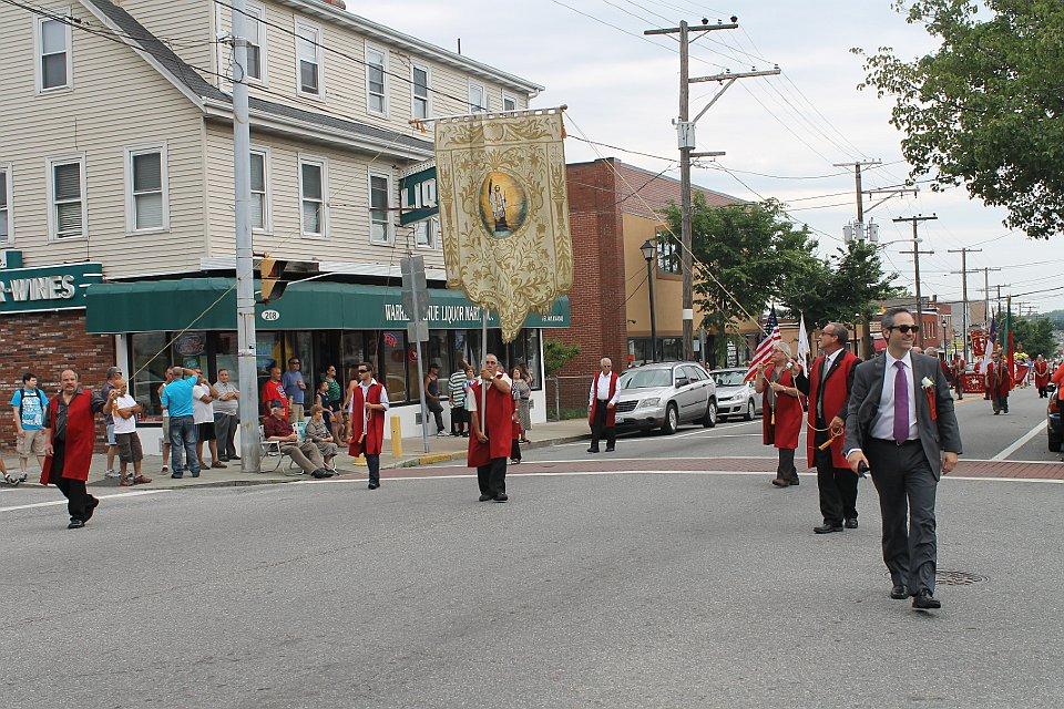 Sunday Procession at Lyons Ave -