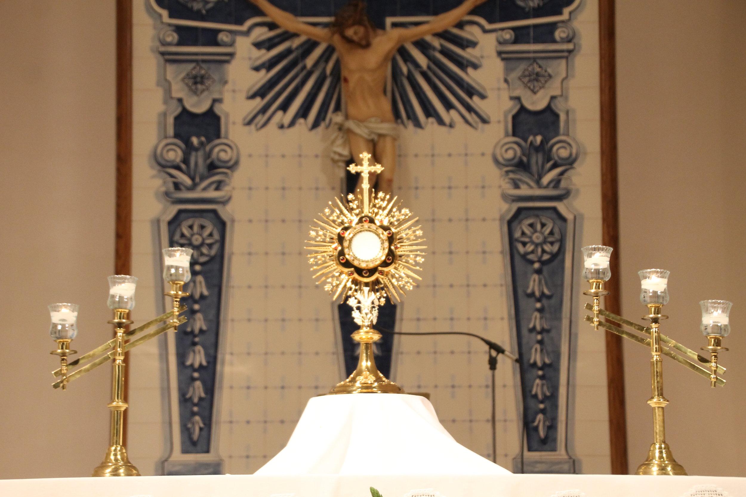 Eucharist — St. Francis Xavier