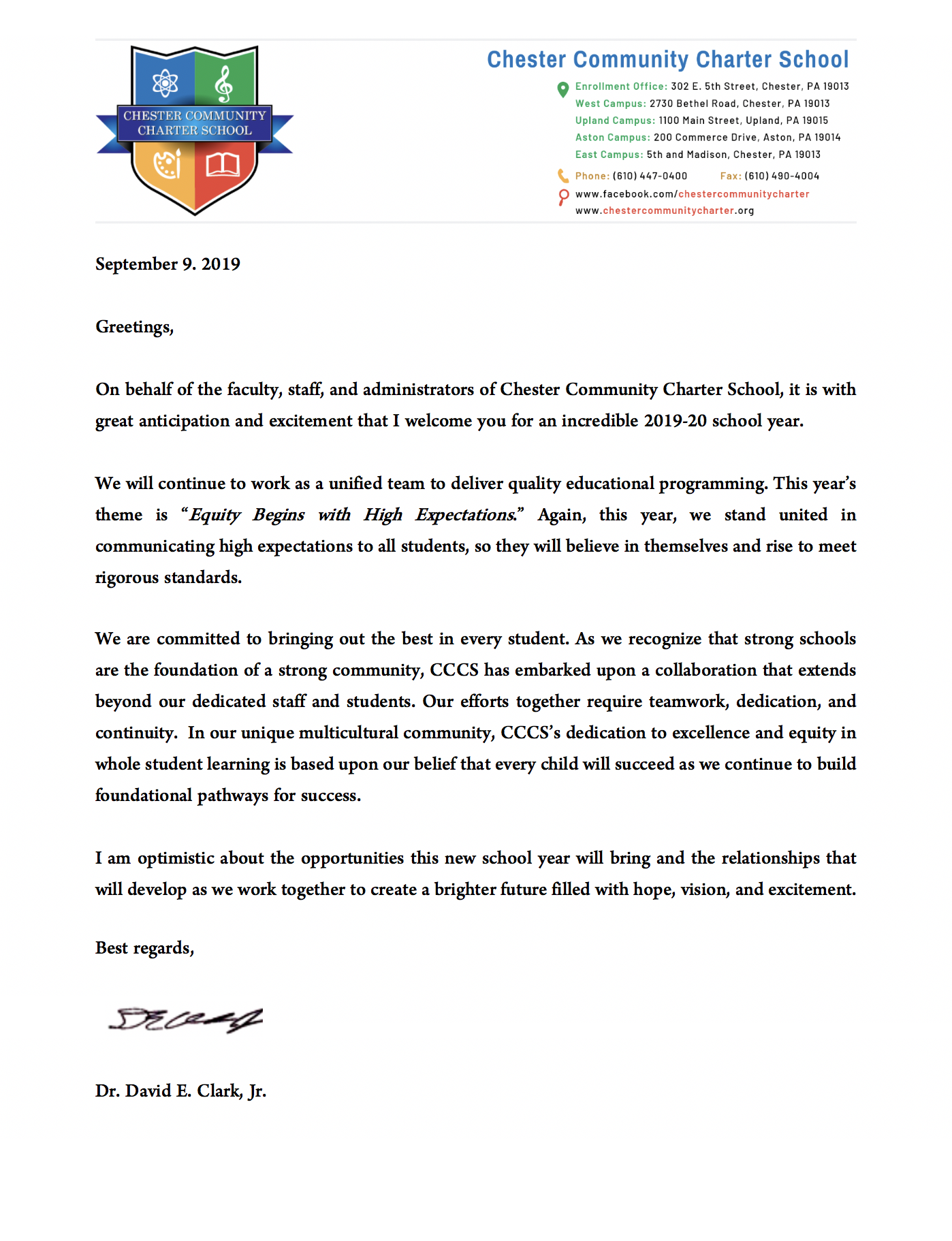 Dr Clark Parent Greeting Letter 2019-2020.png