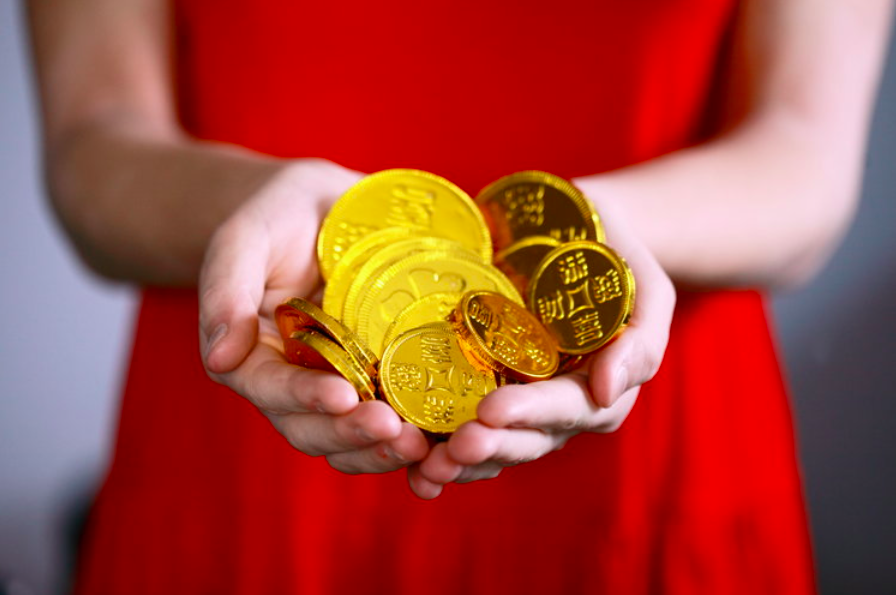 Chinese New Year 2019 Gold Coins