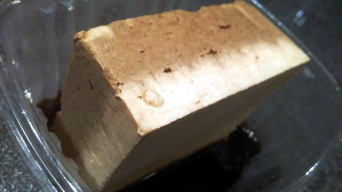 Great for Marinating - Our extra firm tofu can absorb liquids without falling apart, which makes it ideal for marinades and sauces. You can see how much Braggs Liquid Aminos one side of this tofu block absorbed overnight.