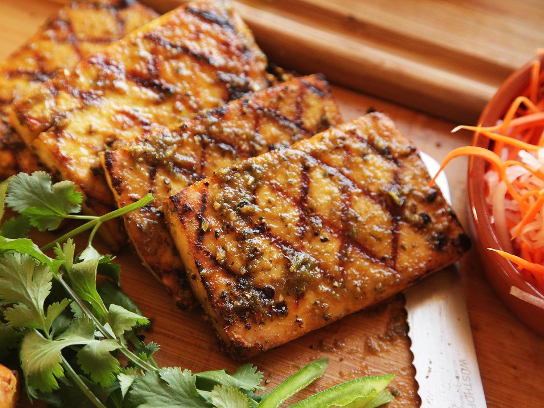 Summer Vegan Food Grilled BBQ