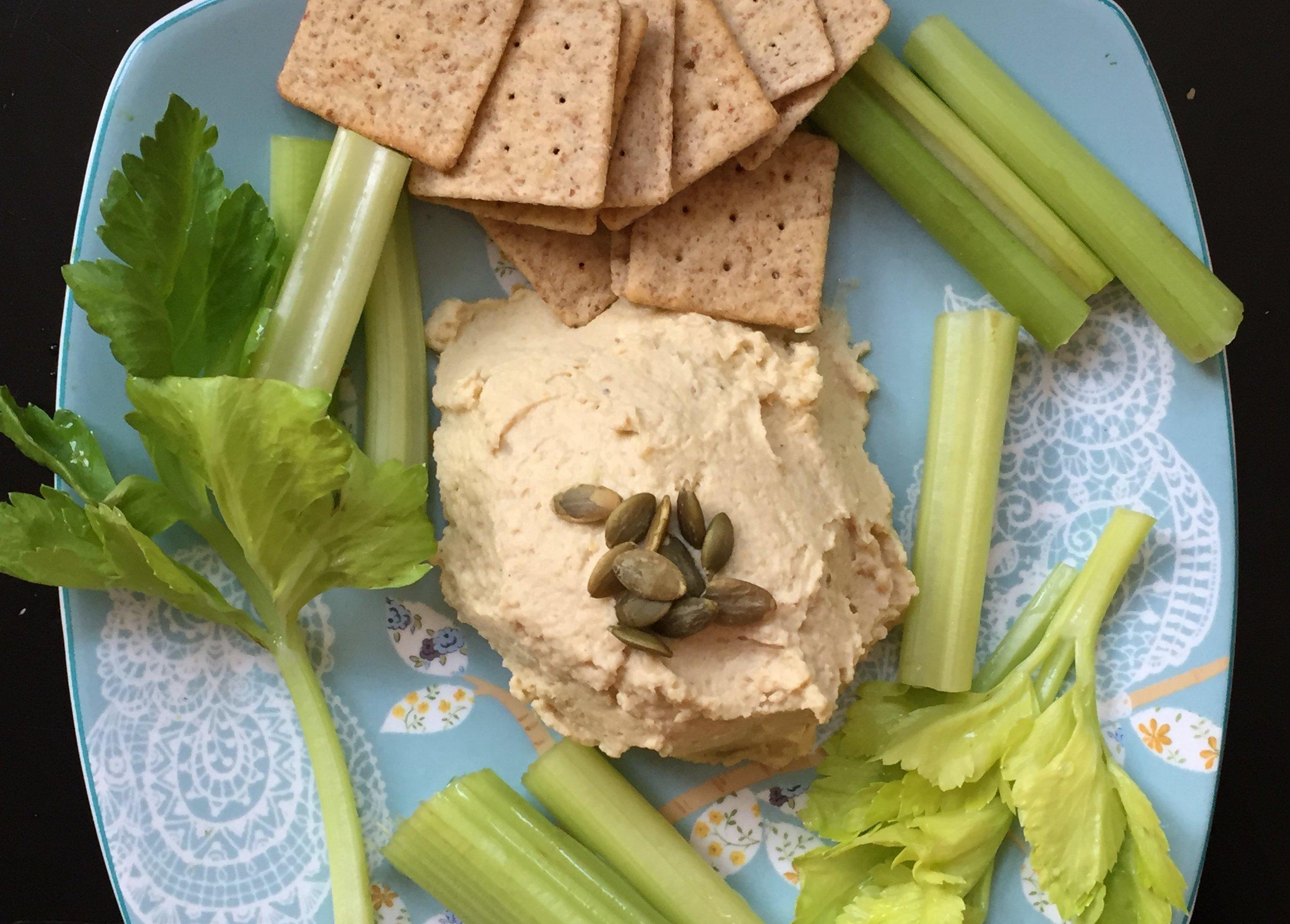 Summer Vegan Foods Edamame Hummus