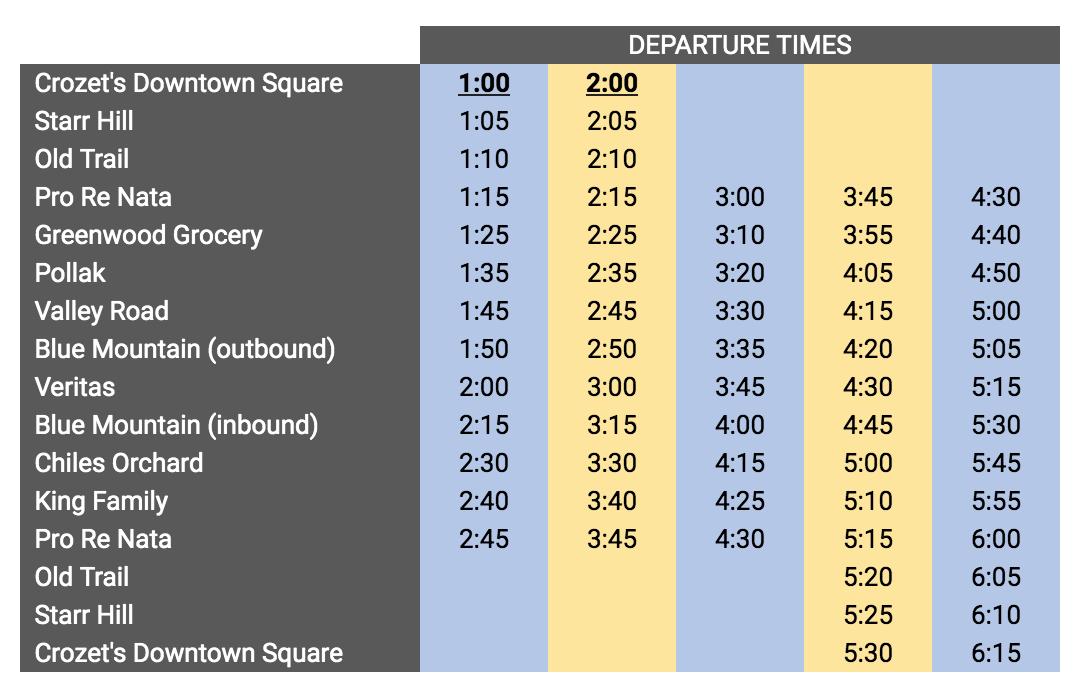 spirits tour schedule.png