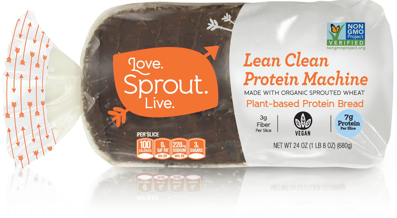 Lean Clean Protein Machine - Feel the power of protein!