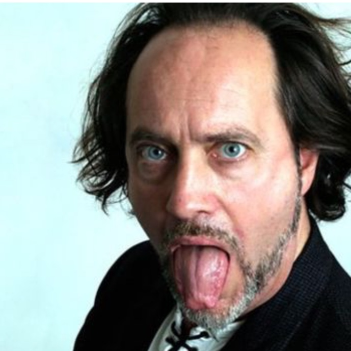 "11 APRIL 2019 : Standup comedian  IAN COGNITO  sat down and died onstage at the Atic Bar's Lone Wolf Comedy Club in Bicester, England, shortly after joking about having a stroke ""and waking up speaking Welsh."" He was sixty."