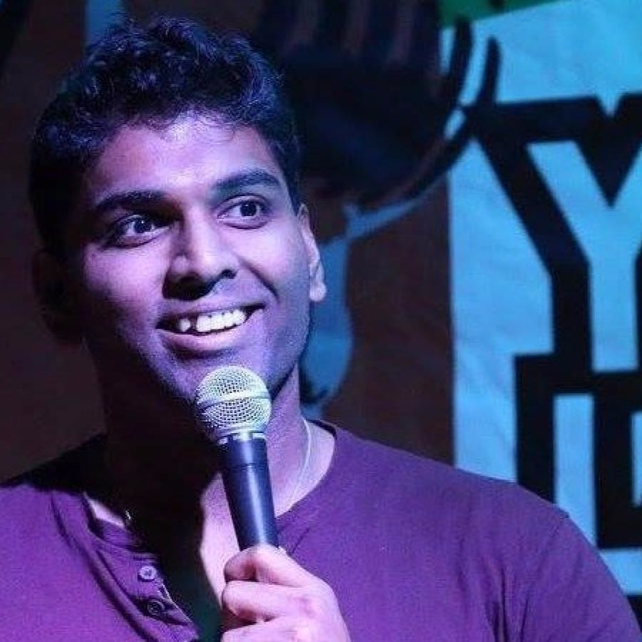19 JULY 2019 : Standup comedian  MANJUNATH NAIDU  had a heart attack onstage at the Signature Hotel in Al Barsha, Dubai. He'd been talking about his anxiety; the audience thought he was acting out a scene. He was thirty-six.