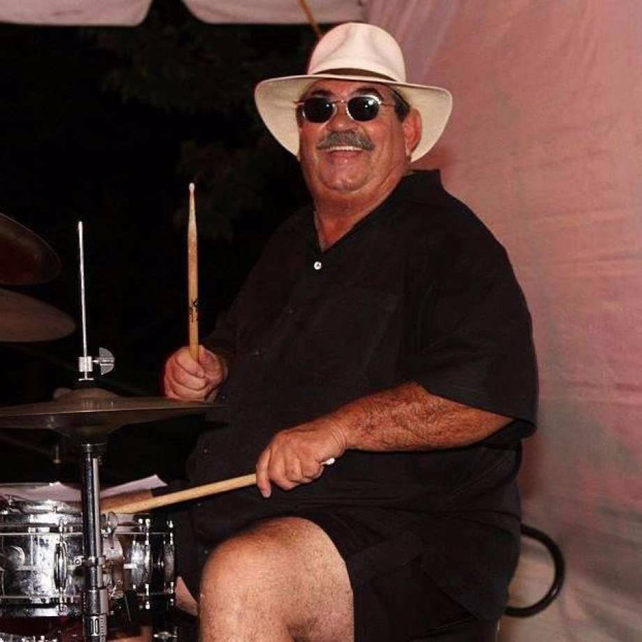 24 AUGUST 2019: TIM CURRIE , drummer and leader of Tim Currie's Motown Review Band, had a heart attack while performing on the Green in Norwalk, Connecticut. He also led 60s tribute group, Tumblin' Dice Band. He was sixty-six.