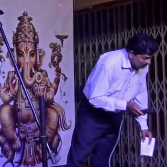 3 SEPTEMBER 2019:  Popular Indian singer and composer  JERRY BAJJODI  suffered a heart attack while performing at a Ganeshotsava celebration in Bejai. Video of his fall from the stage quickly went viral. He was fifty-one.