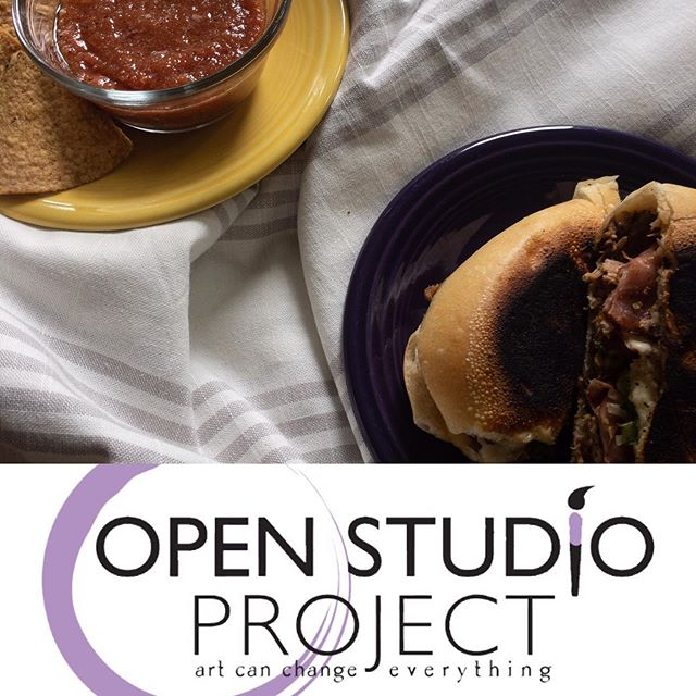 Hey #evanston! Come join me and the ladies of @open_studio_project for wine, art and Cuban sandwiches tonight at 903 Sherman Ave from 5-9pm! Can't wait to see you there! #evanstonsmallbusiness #supportlocal #eatlocal #womeninbusiness #openstudioproject