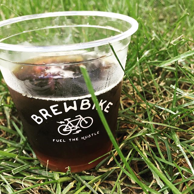 Currently fueling my #hustle with Cinnamon Brown Sugar Cold Brew from @brewbikenu! Come find them at Fran's Cafe, even if you aren't a student!