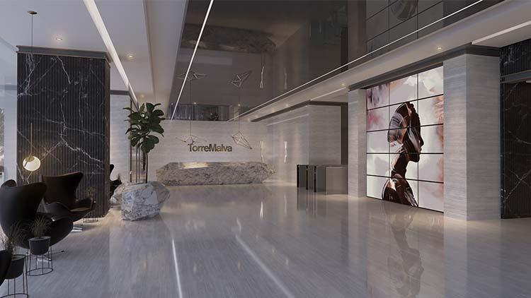 Lobby | Torre Malva | GM Capital