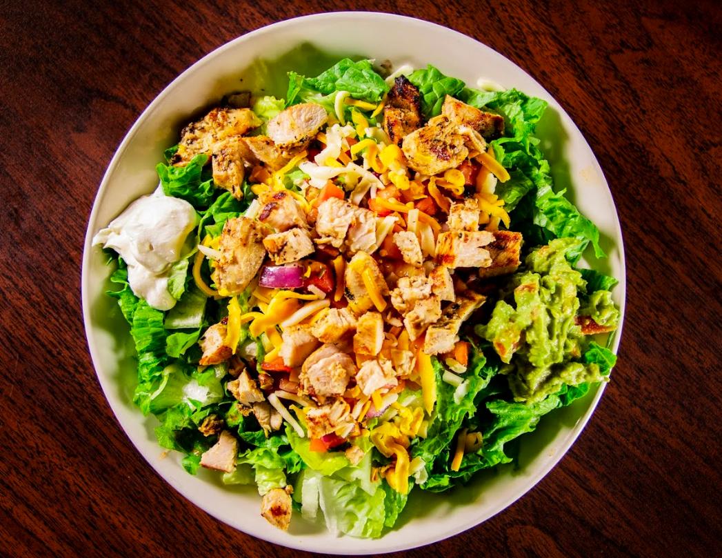 Tinga Taco Salad