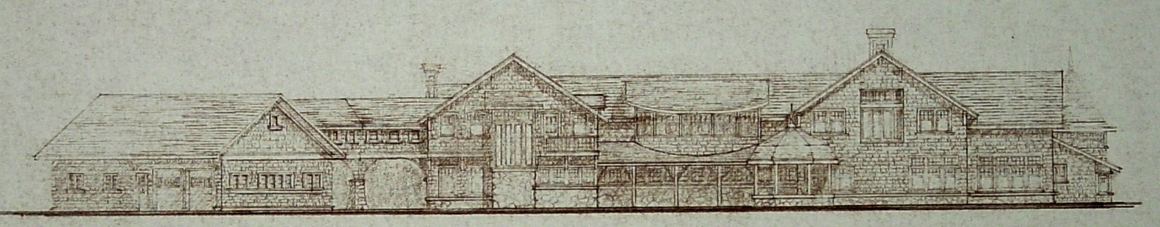 Design study for large Lodge Residence