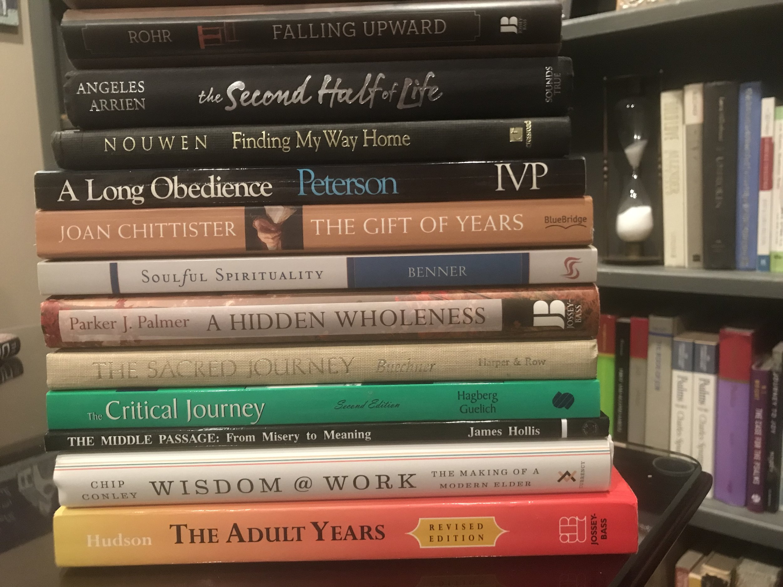 Some of my reading and re-reading this year.