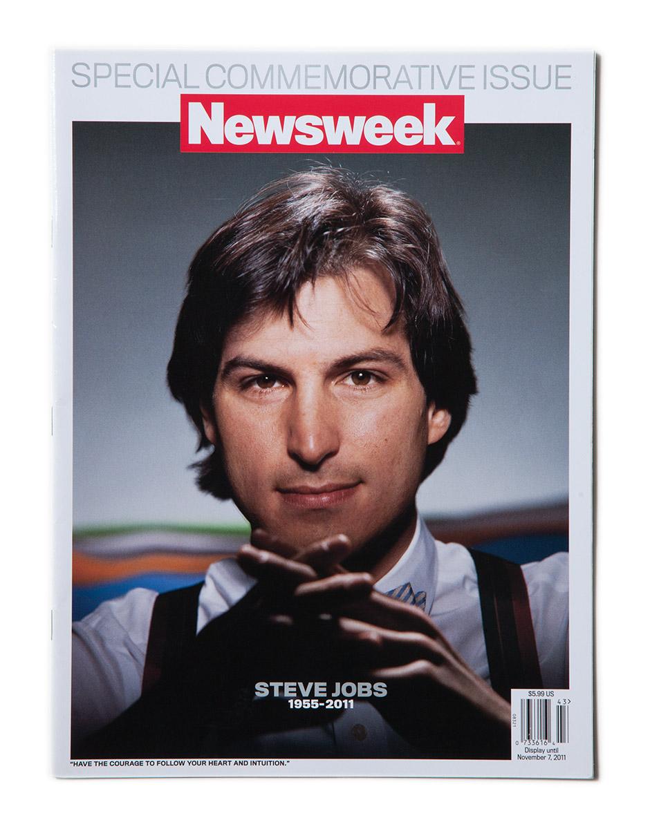 Newsweek, November 2011, Image by Hiro, Steve Jobs 1984