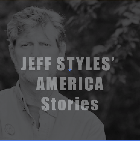 """Jeff shares the unique stories that have shaped his life and those around him. Beginning with """"the incident"""" that put him on the path from technophobe to podcaster.   jeffstylesamerica.com"""