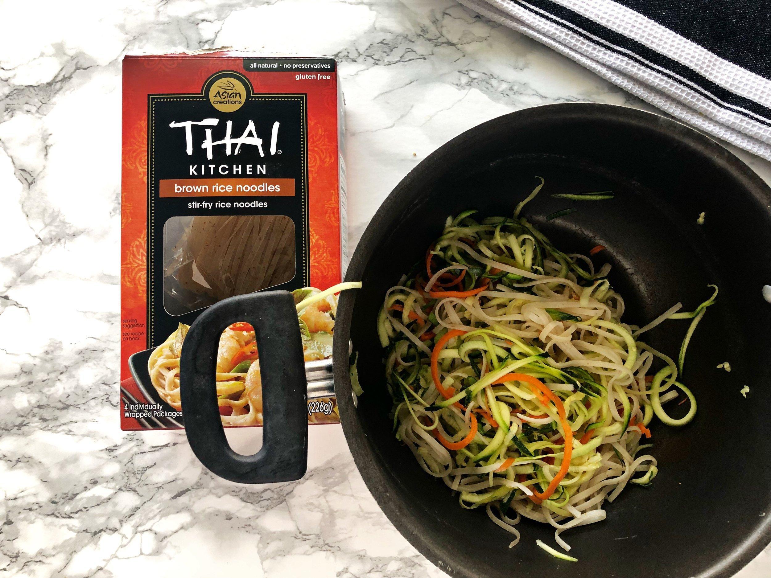 Vegan Meal Prep Recipe, Zoodles 2