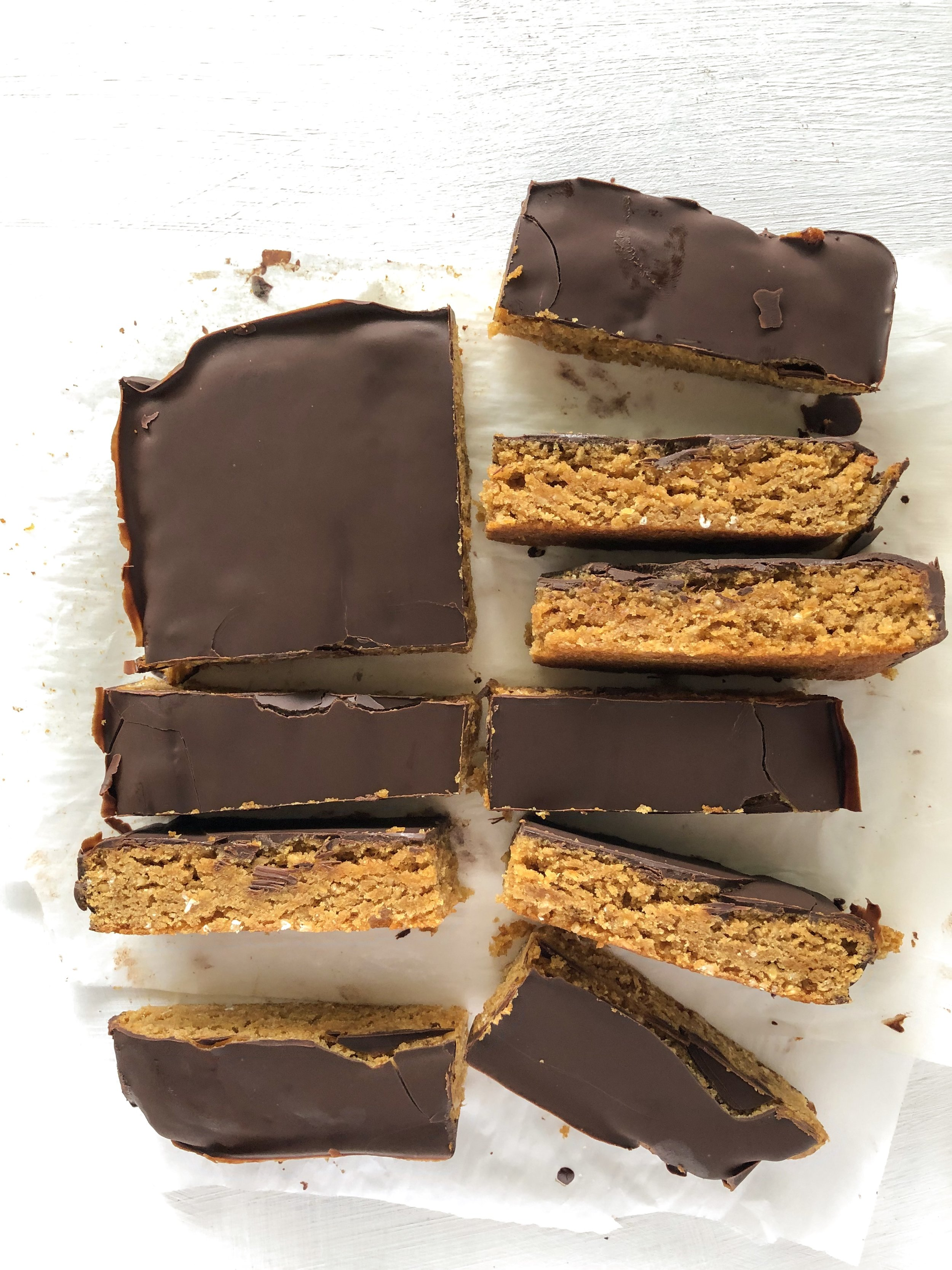 Healthy Peanut Butter Bars 3