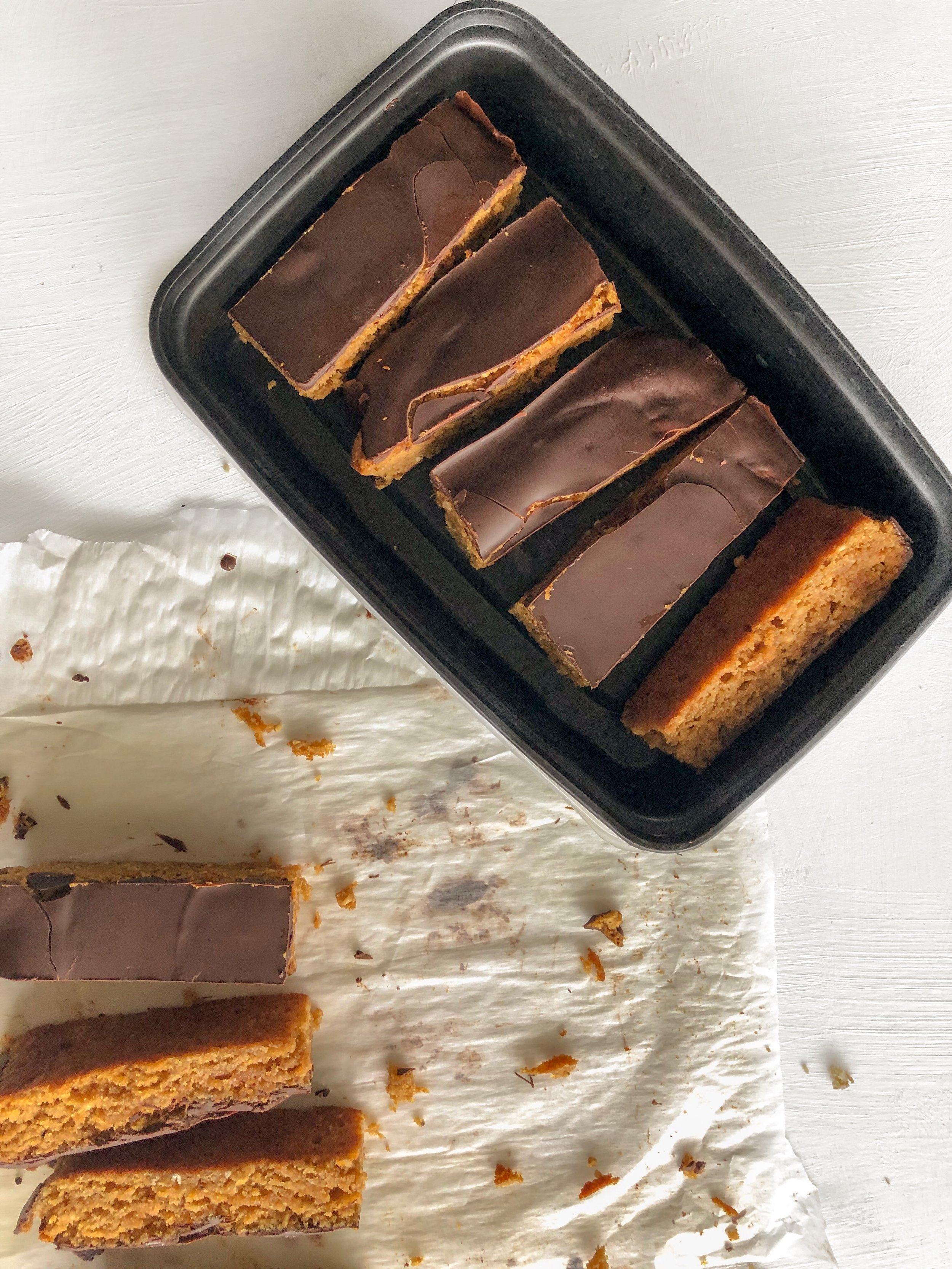 Healthy Peanut Butter Bars 4