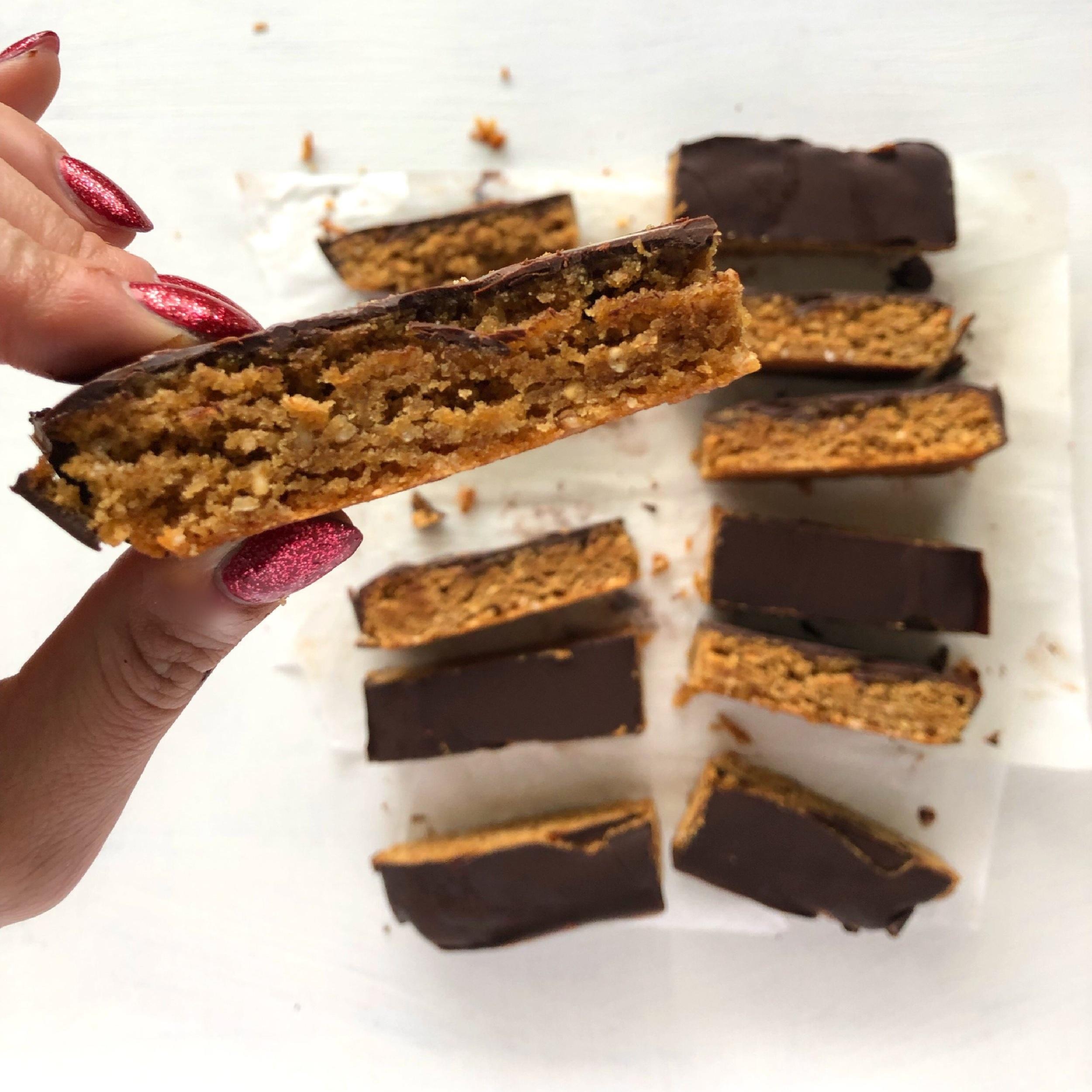 Healthy Peanut Butter Bars 5