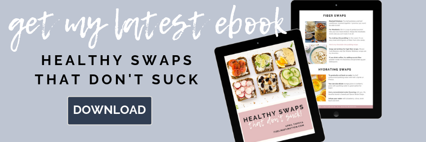 Healthy Swaps, Meal Prep Sunday