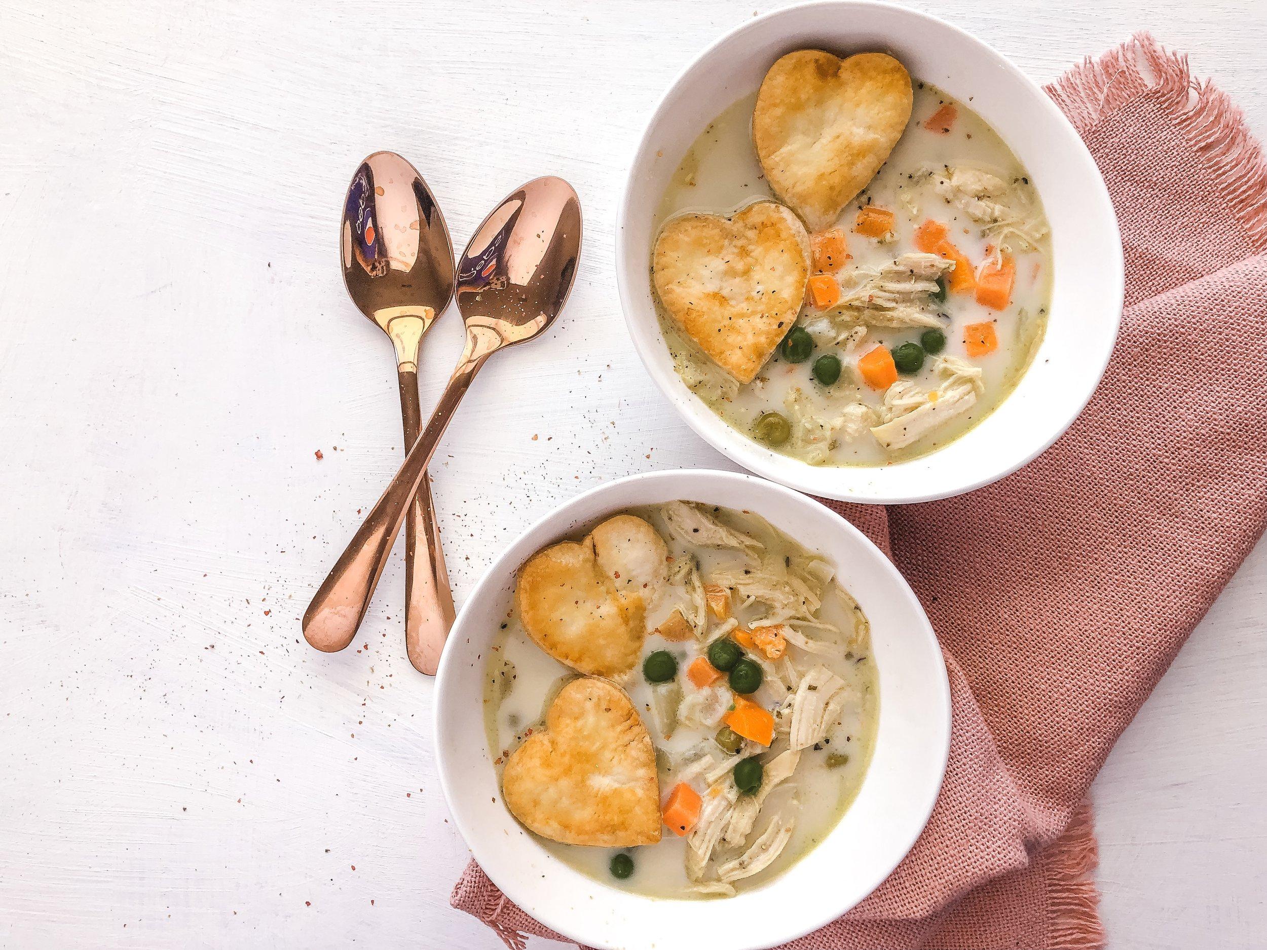 Macro Pot Pie Soup Meal Prep 3