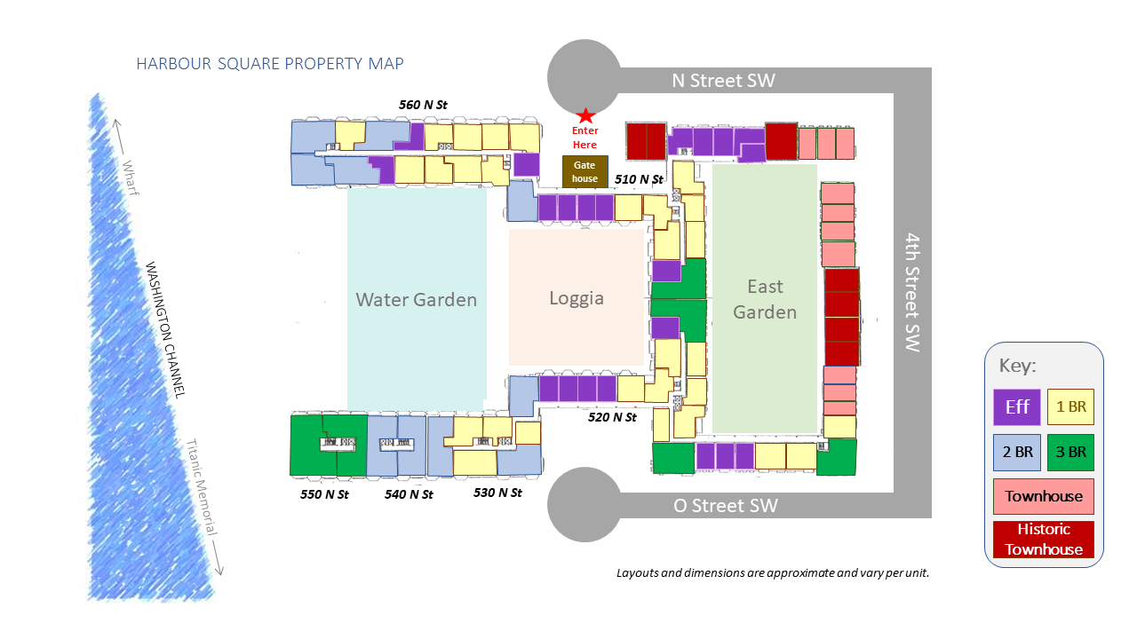 Harbour Square Property Map