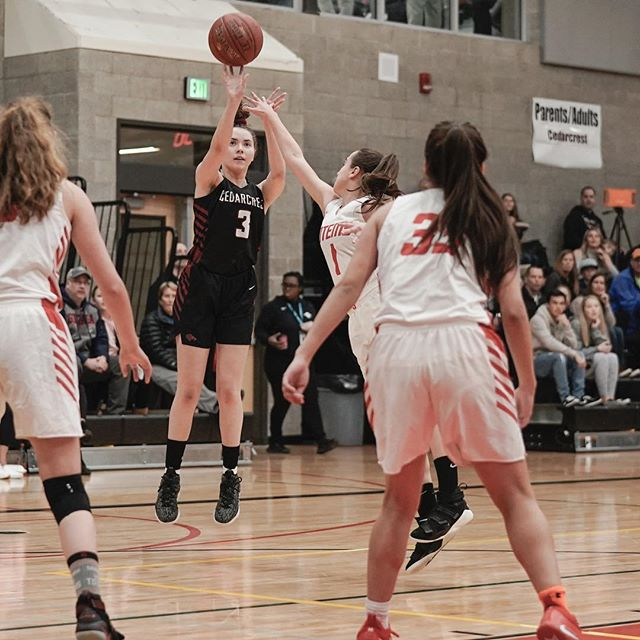"""Final game of the 2018-19 season. A tight game, but Sammamish came away with the win. Final score 48-53. From coach Brad : """"I'm so proud of this team. Even though we came up a little short at the end, their effort…not only in this game, but all season has been incredible. Such a honor to coach them,"""""""