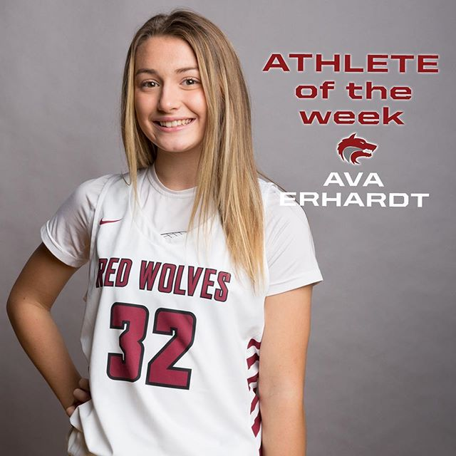 Congrats to Ava Erhardt for being recognized as Athlete of the week by the Snoqualmie Valley Sports Journal. . . From SVSJ: – We round out the girls with one last trip to the basketball floor. Ava Erhardt gave it her all last Friday night, scoring 22 points for the Red Wolves in a 53-48 season-ending playoff loss in the Northwest 2A District tournament to Sammamish in Bellevue. Erhardt is one of several sophomores who will be worth keeping an eye on this offseason as CHS looks to build off what was a relatively successful 12-10 campaign in their first go-round in Wesco in over 20 years. She, along with fellow sophomores Rose Carlson, Sidra Griffin and others, will aim to improve on this mark next season, and will have back teammate Jaylin Yowell, who was out much of the season with a knee injury. #GoRedWolves