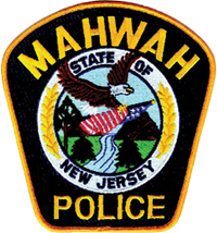 mahwah police department badge nj