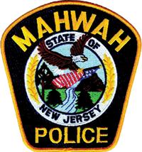 mahwah police department badge nj