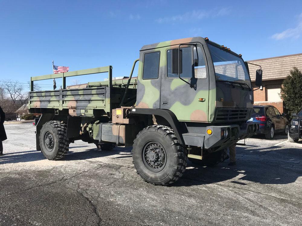 LMTV Vehicle from Military 1033 Program