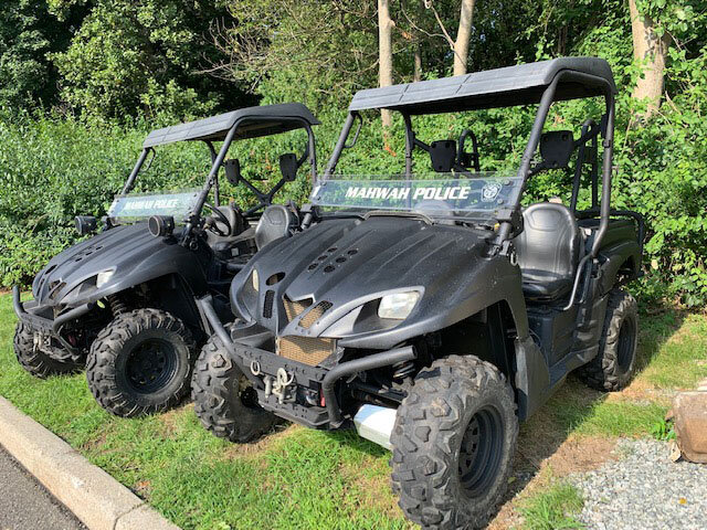 Police Department Utility Vehicles received through the 1033 Program