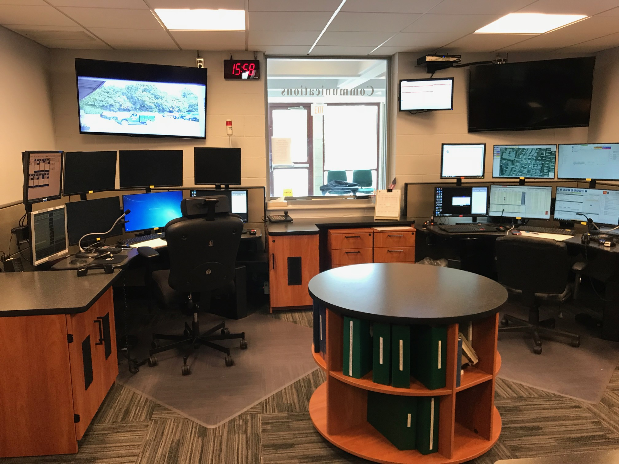 Mahwah Police communications center