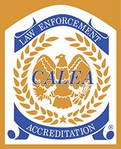 CALEA Law Enforcement Accreditation logo