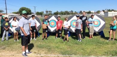 Jack Dandridge and the Stacey Archery Club