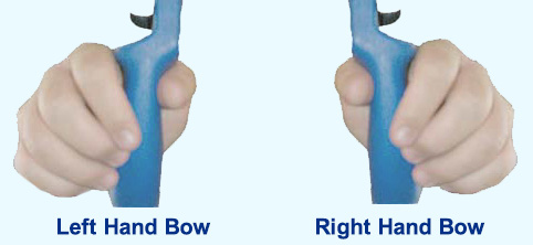 bow grip demonstration