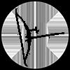 recurve bow icon