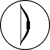 traditional bow icon
