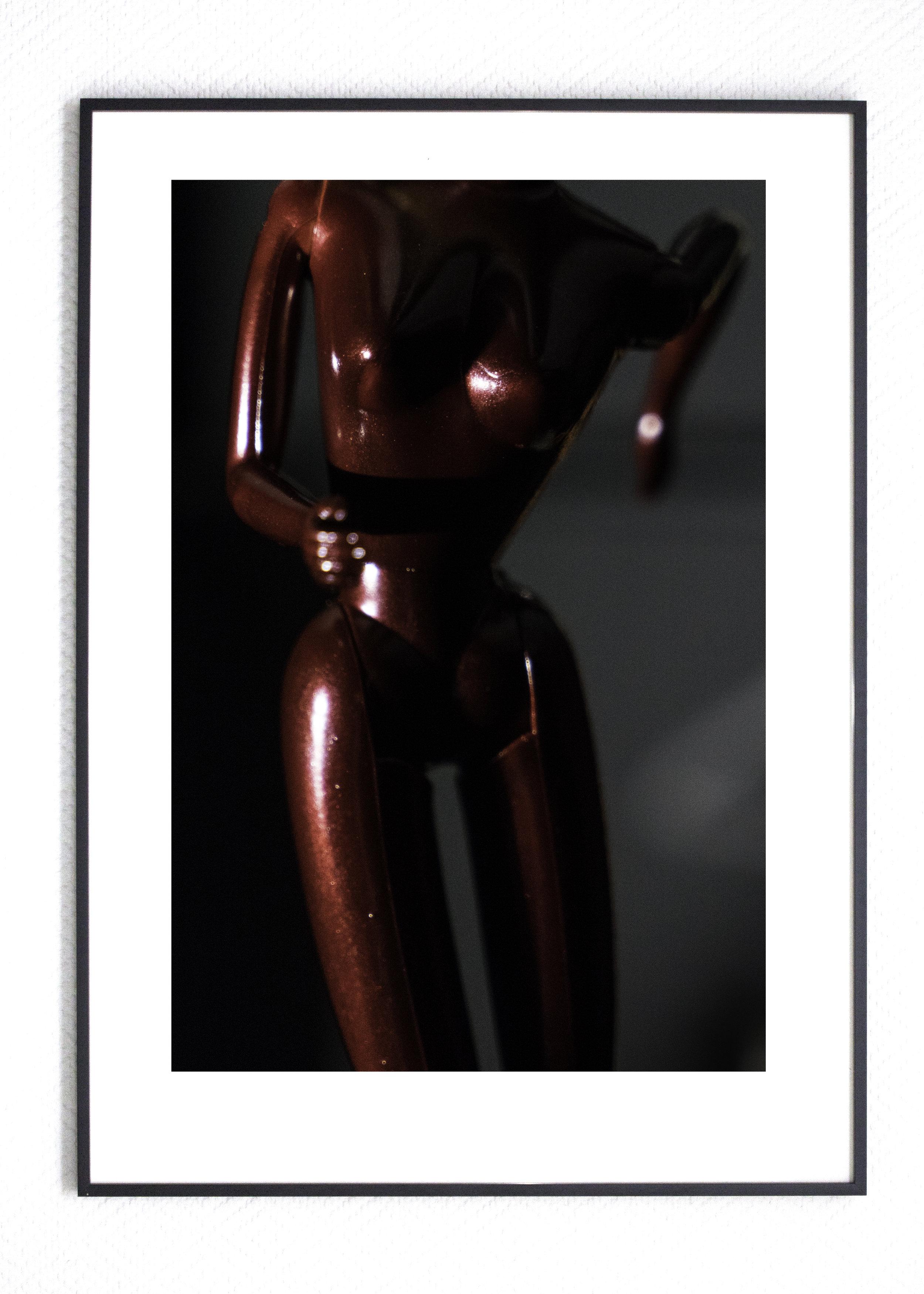 Red Hearted B Edition 8+1AP Fine Art Giclée Print 4000,-