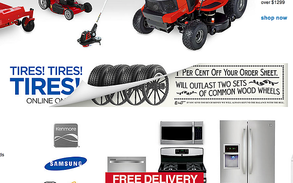 Copy of Sears - April Fool's Website Takeover